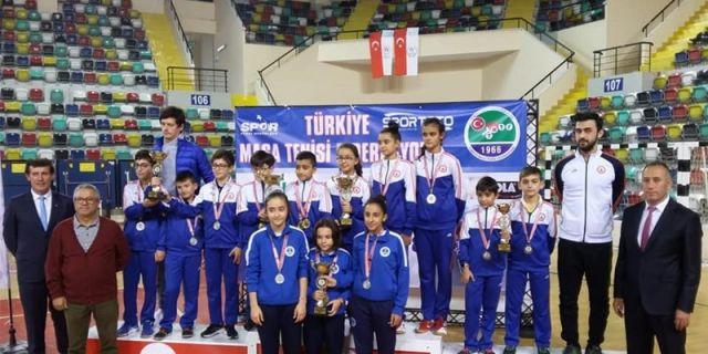 Küçükler Bölge Takım Şampiyonası Sona Erdi.